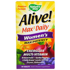 Natures Way Alive Womens Multi