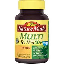 Nature Made Multi for Him 50+