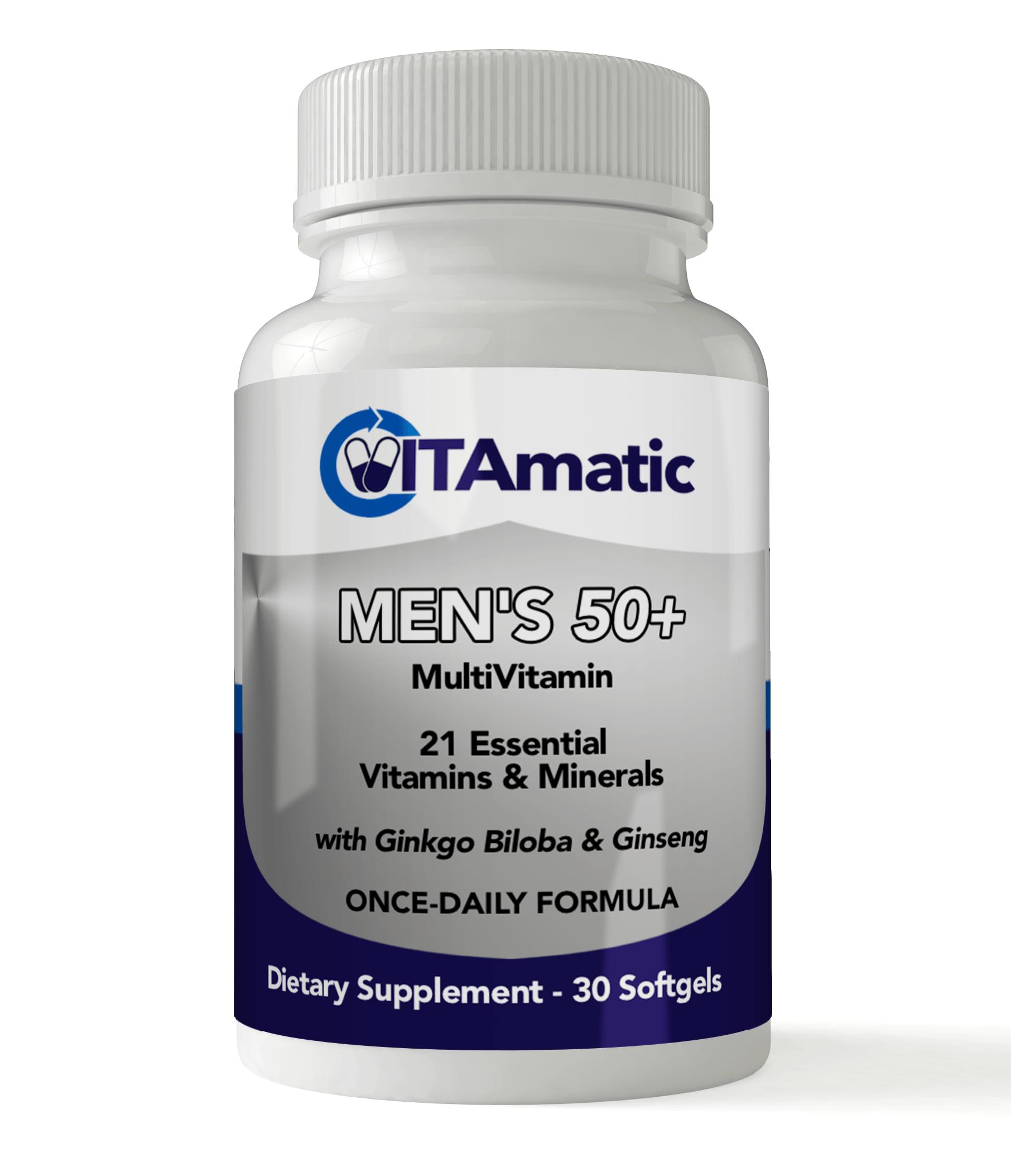 Vitamatic Mens 50+ Multivitamin