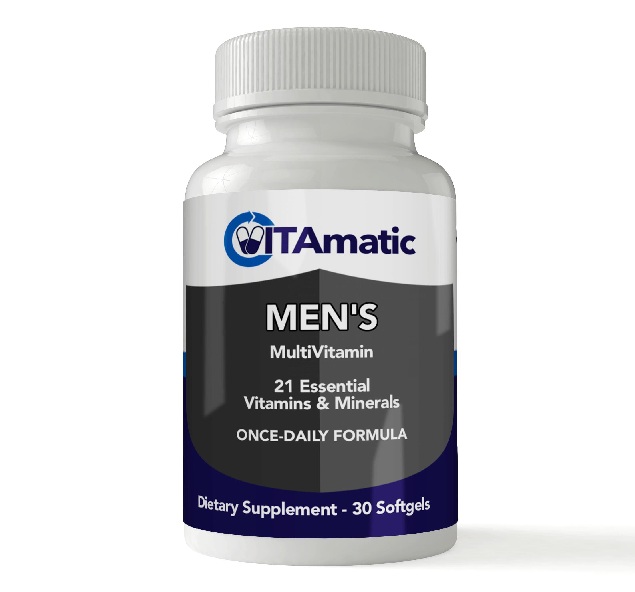 Editor's Choice: Vitamatic Mens Multivitamin
